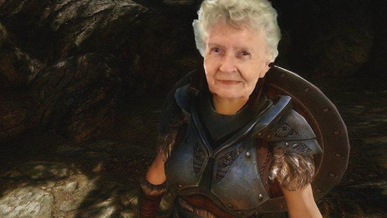 abuela gamer