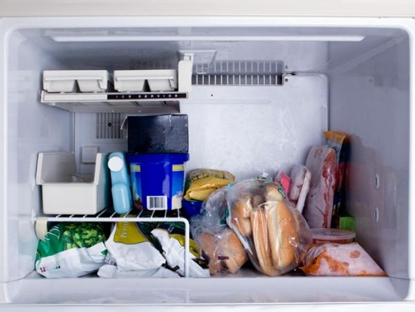 freezer comida
