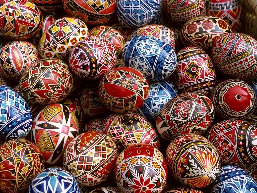 huevos pintados