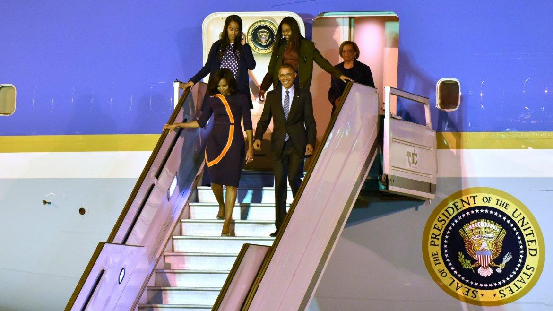 llegada obama