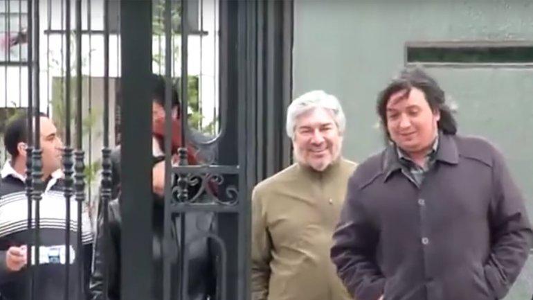 Lázaro Báez- Máximo Kirchner