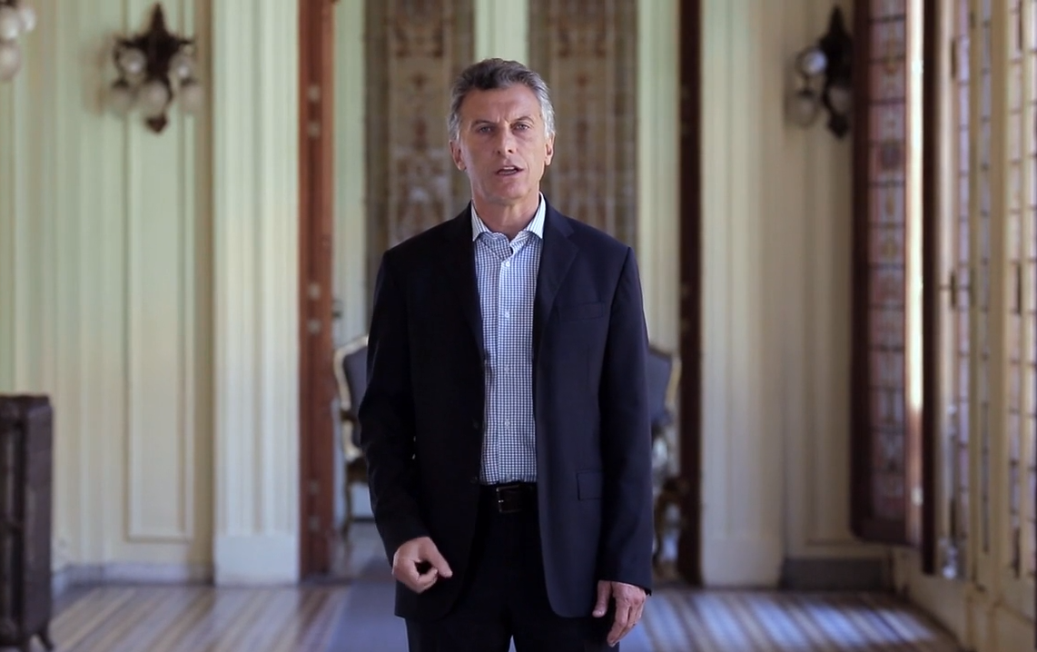 macri dia memoria video