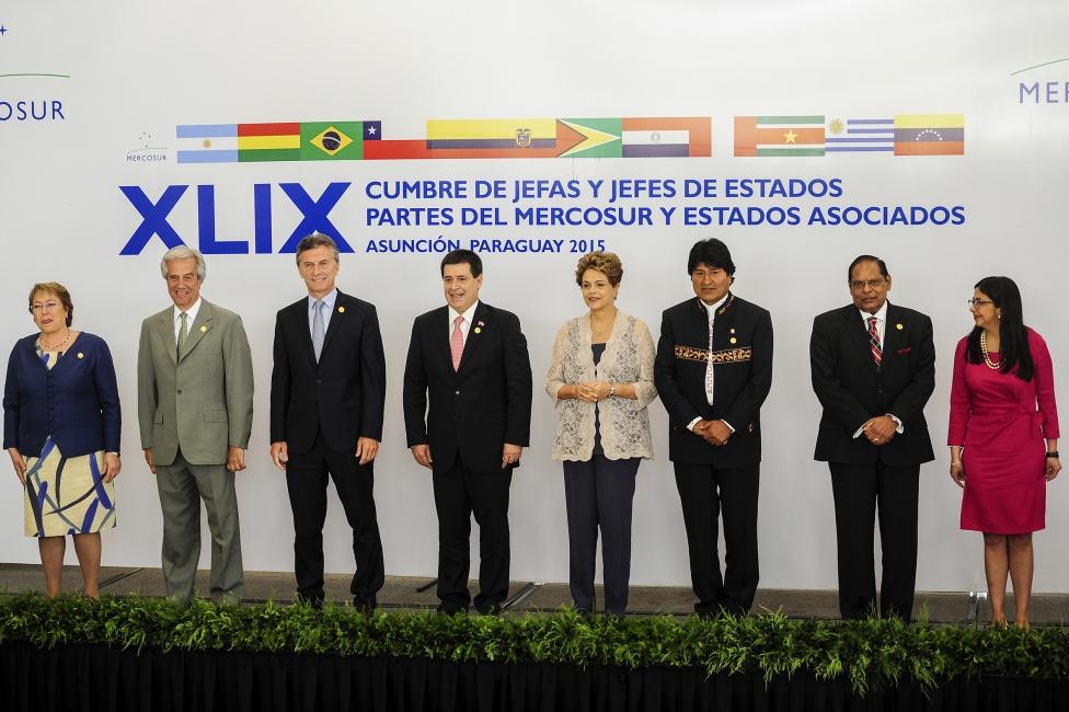 Mercosur-presidentes