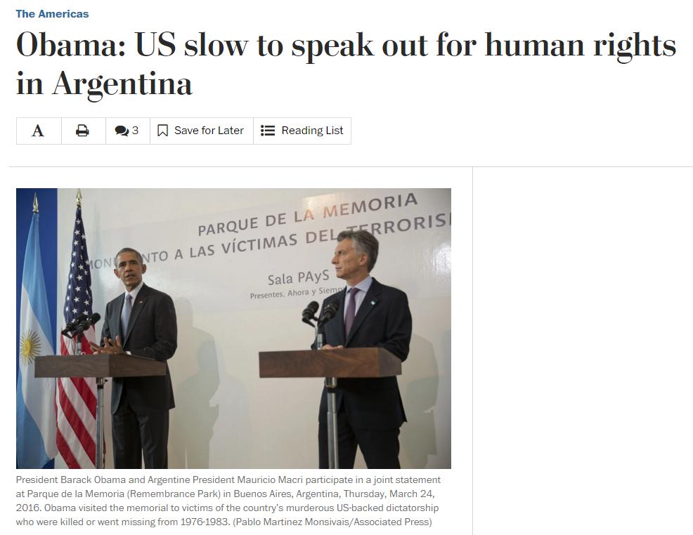 obama argentina