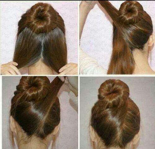 Peinado-Con-Un-Chongo-Alto