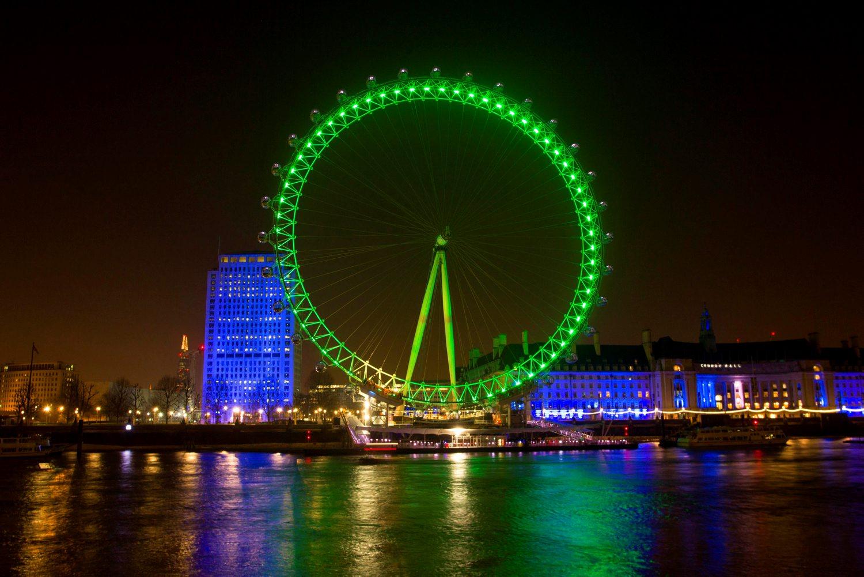 LONDON EYE JOINS TOURISM IRELAND'S GLOBAL GREENING