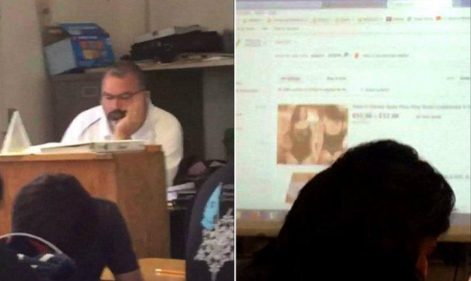 profesor lenceria