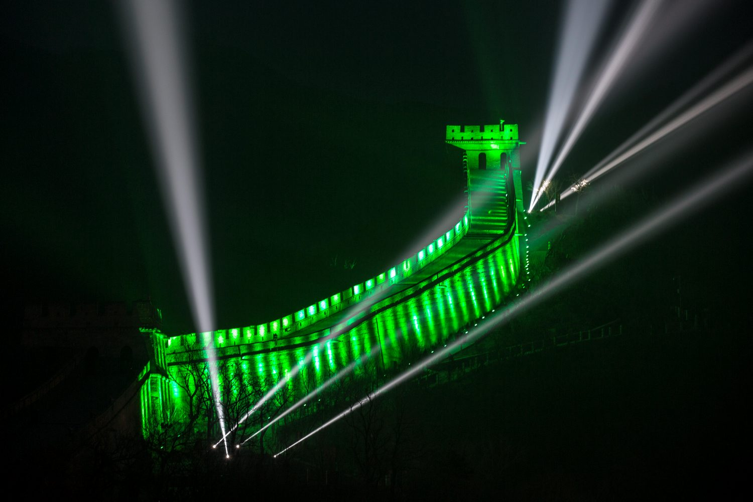 GREAT WALL OF CHINA JOINS TOURISM IRELAND'S GLOBAL GREENING