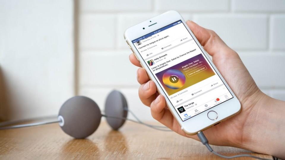 spotify y facebook messenger