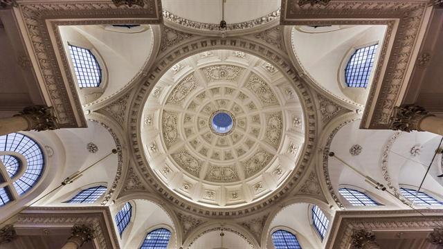 St. Stephen Walbrook, ciudad de Londres (Inglaterra)