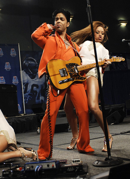 Super Bowl XLI - Pepsi Super Bowl Halftime Show Press Conference Featuring Prince