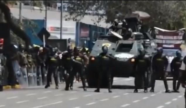 baile de policias