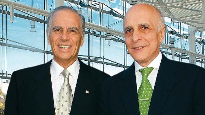 Los empresarios Carlos y Alejandro Bulgheroni