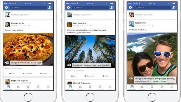 facebook para ciegos