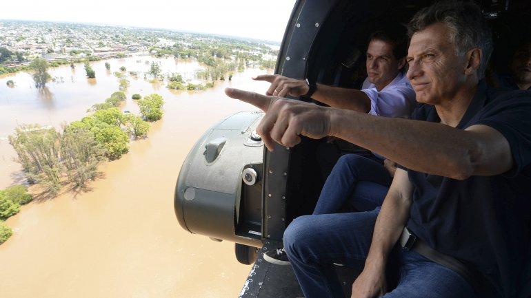 macri inundaciones