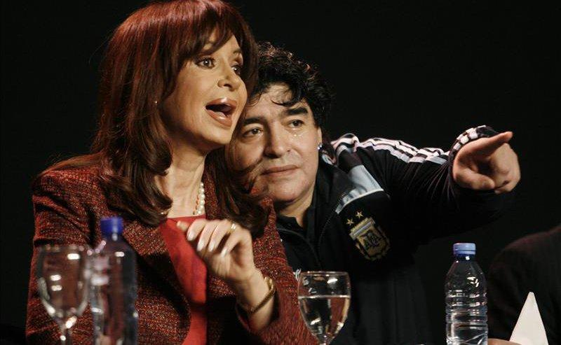 Maradona-Cristina-Kirchner1