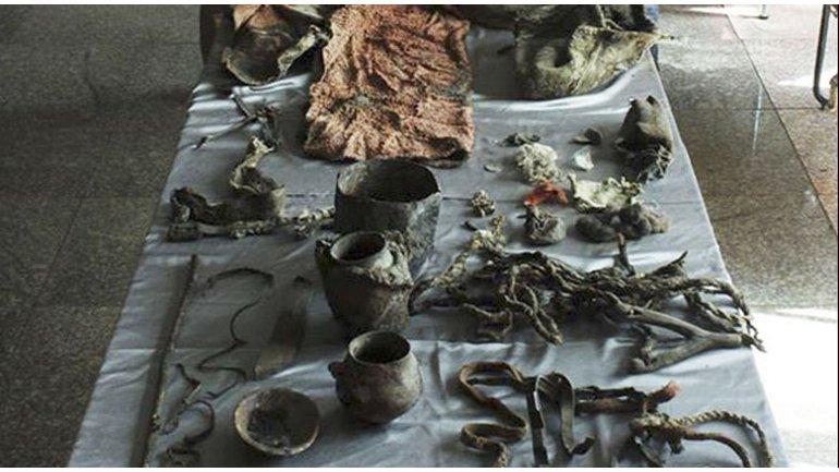 momia en mongolia