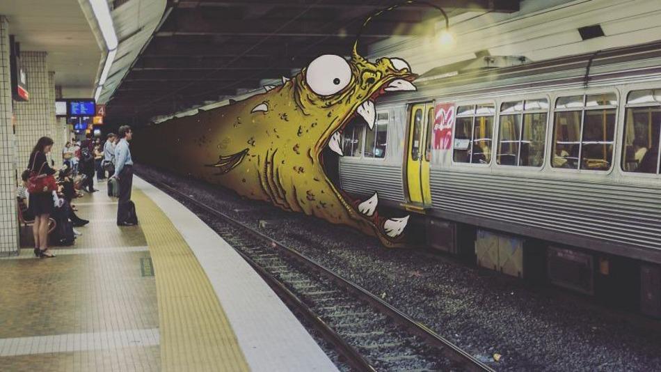 monstruos en la ciudad