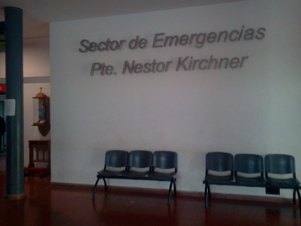Sector de Emergencias del Hospital Pirovano de Tres Arroyos, Bueno Aires