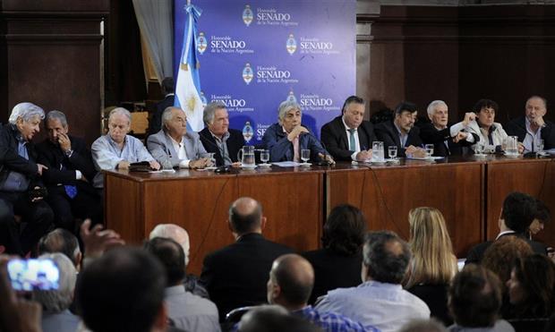 sindicalistas, moyano, calo, barrionuevo