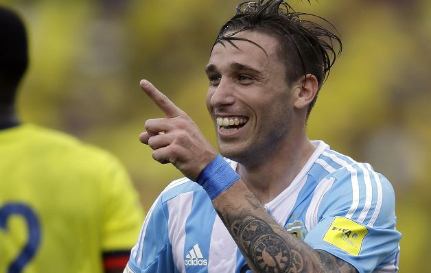 Colombia Argentina WCup Soccer