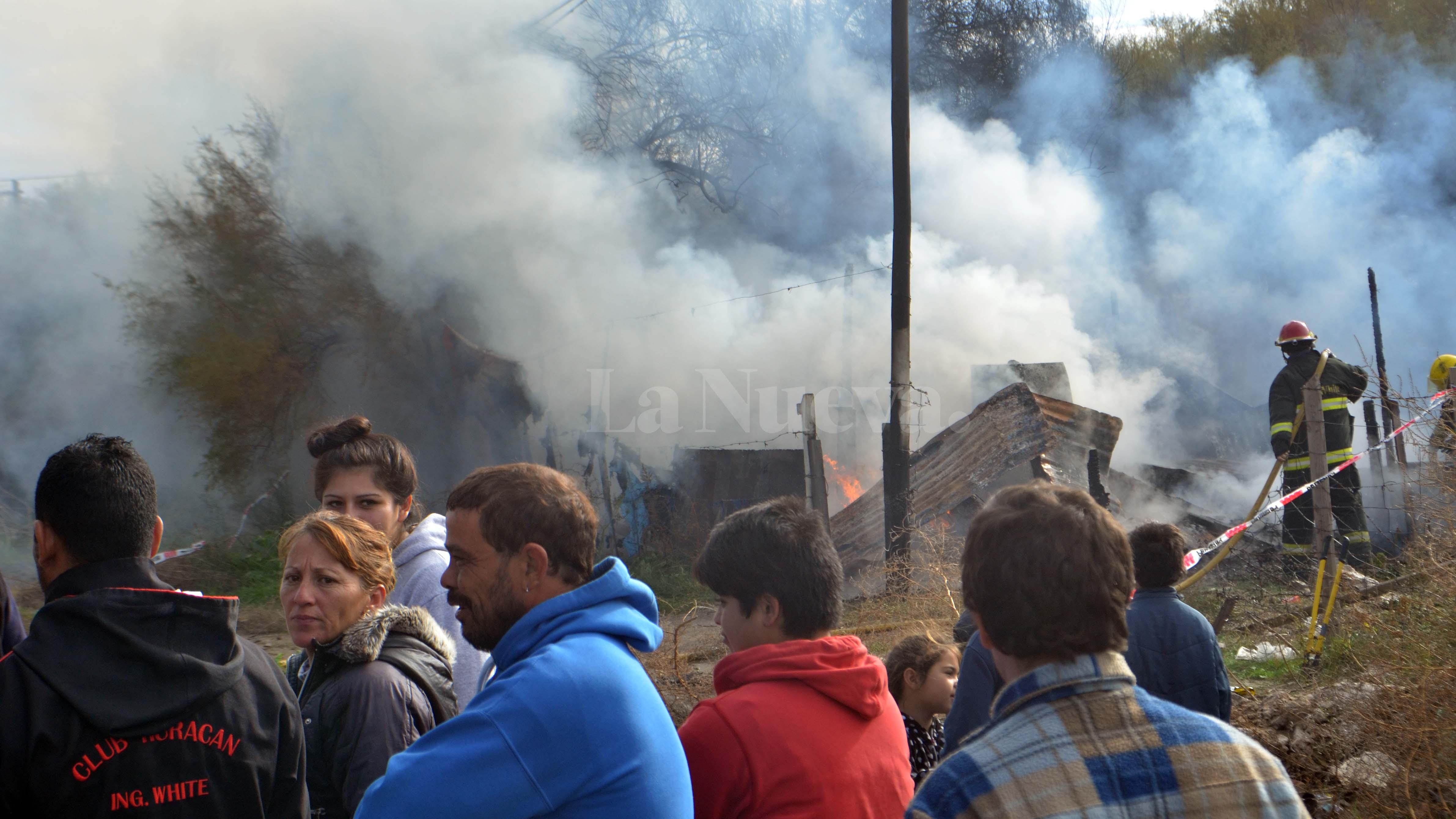 quemaron la casa del asesino de micaela ortega en el saladero