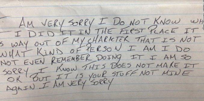 lsadron pide perdon