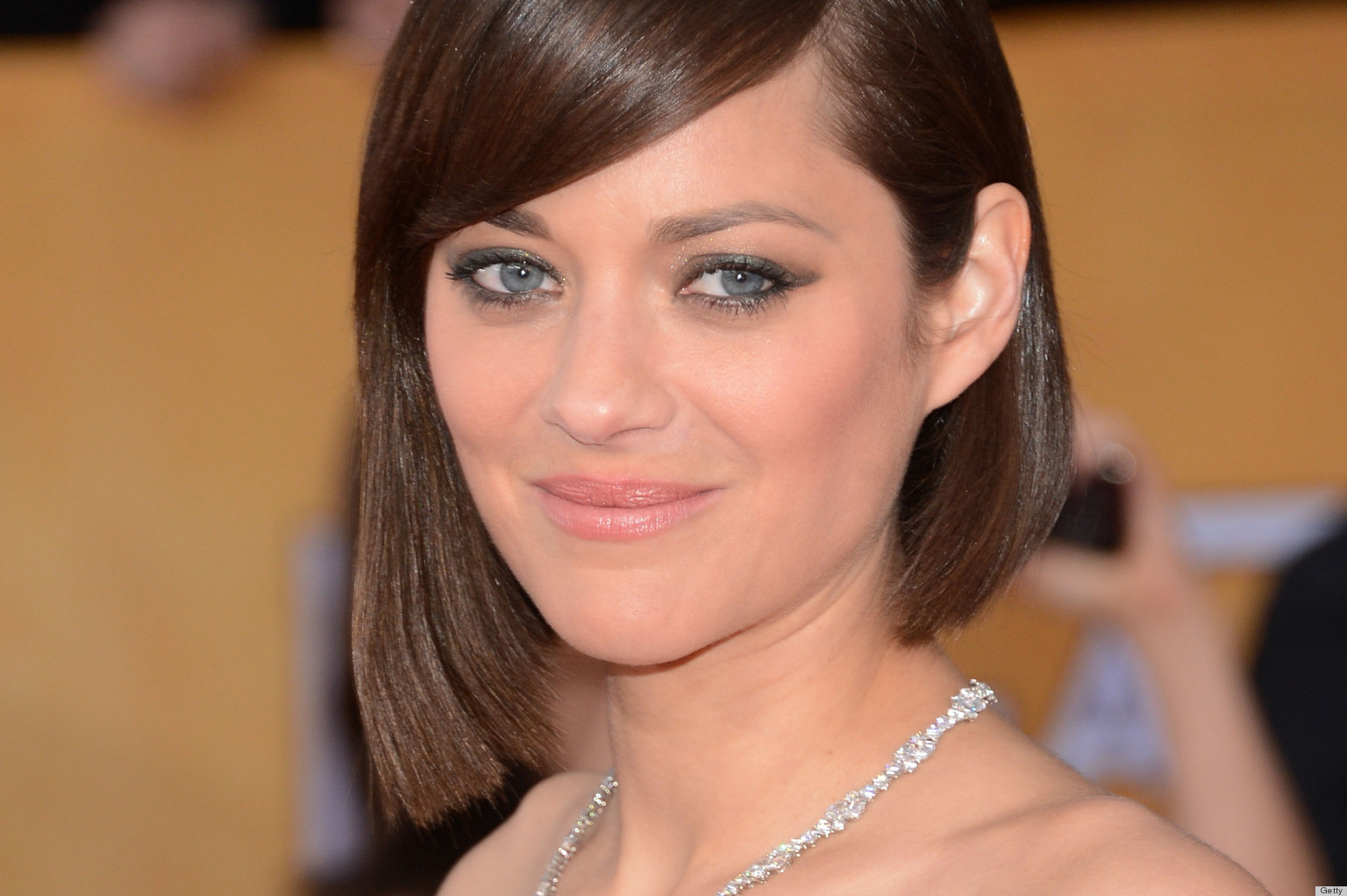 LOS ANGELES, CA - JANUARY 27:  Actress Marion Cotillard attends the 19th Annual Screen Actors Guild Awards at The Shrine Auditorium on January 27, 2013 in Los Angeles, California.  (Photo by Jason Kempin/Getty Images)