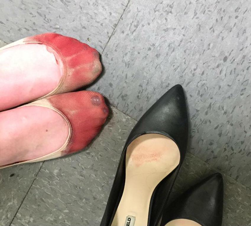 pie-sangre