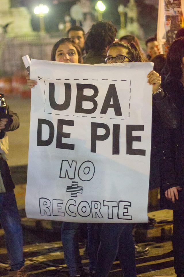 Uba-Fadu-intervención-congreso-crédito Facebook ceading de los estudiantes 1