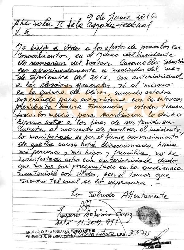 carta de baez