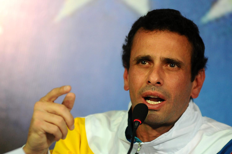 El caso del incendio en la Gobernación de Miranda antes de recibir a Henrique Capriles Radonski.