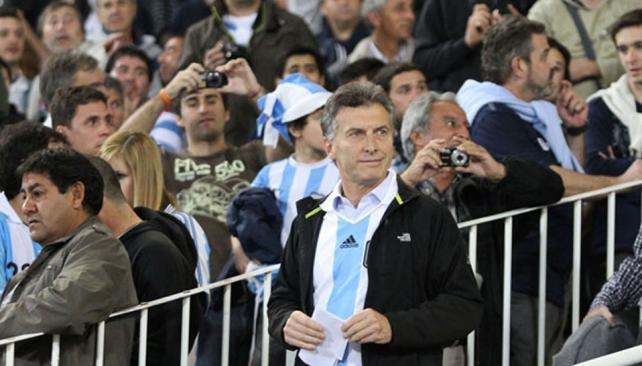 macri camiseta argentina