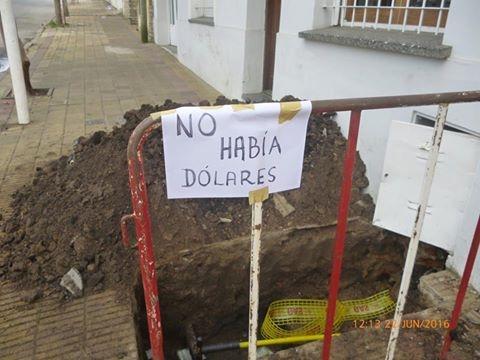 no hay dolares