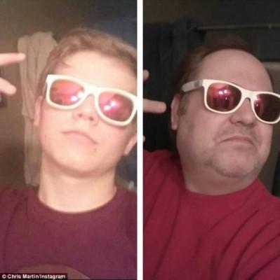 selfie padre4