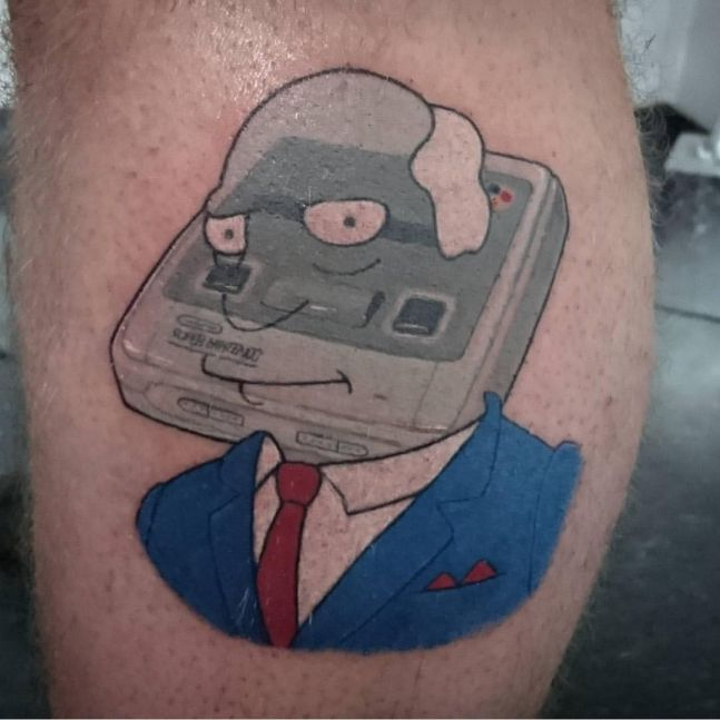 simpsons tatoo10