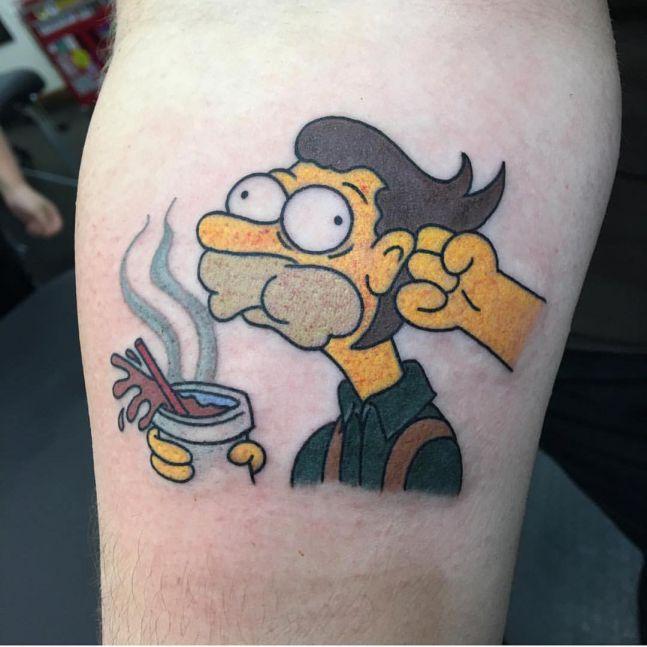 simpsons tatoo12