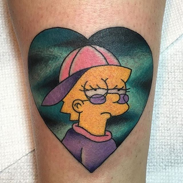 simpsons tatoo14