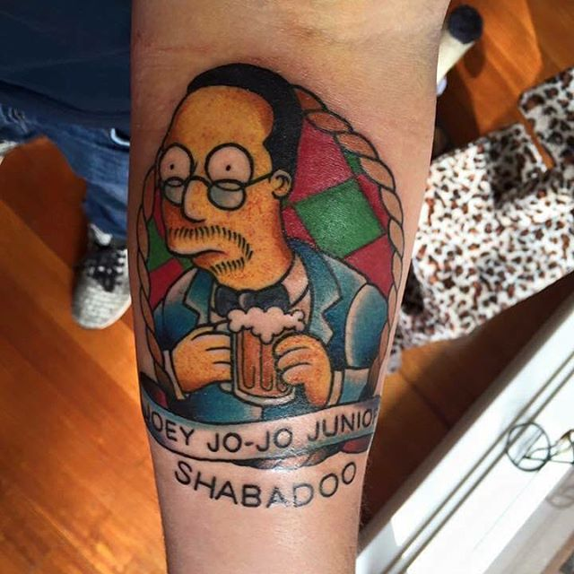 simpsons tatoo19