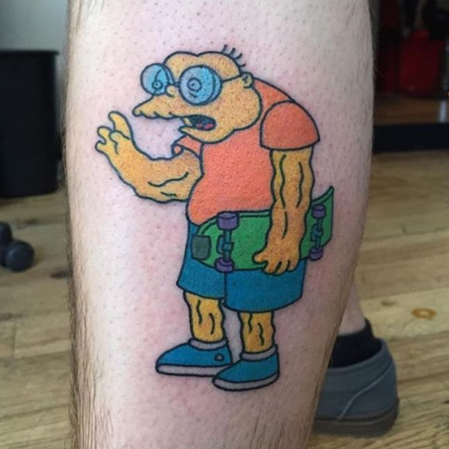 simpsons tatoo2