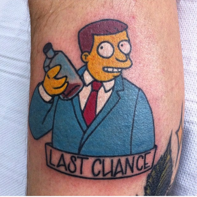 simpsons tatoo20