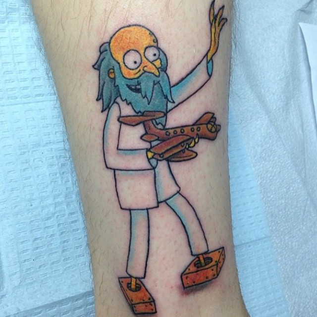 simpsons tatoo22