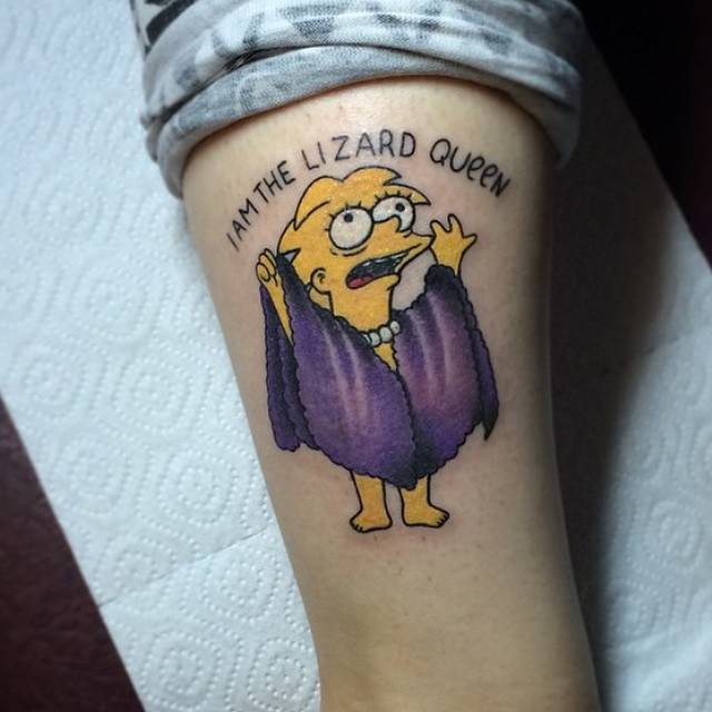 simpsons tatoo23