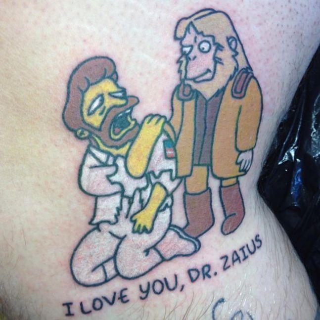 simpsons tatoo8