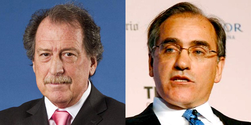 Jorge Brito y Juan Bruchou