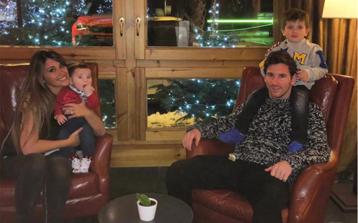 En la actualidad, la pareja disfruta de sus dos hijos (Thiago y Mateo)