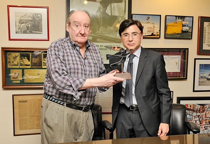 Héctor Ricardo García con Jorge Fontevecchia