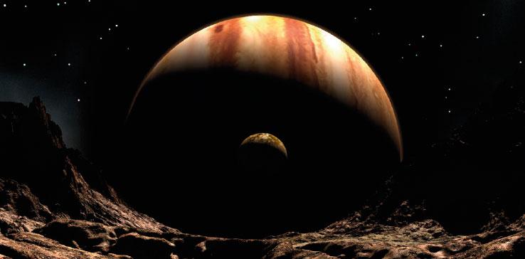 Juno captó la primera fotografía de Júpiter.