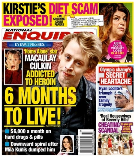 Macaulay Culkin-diario
