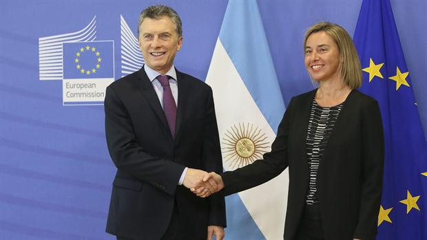macri y Mogherini